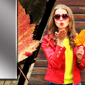 Leaves Photo Frames icon