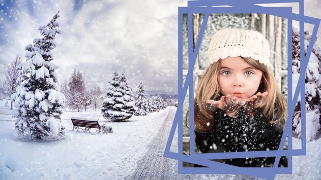Snow Photo Frames screenshot 4