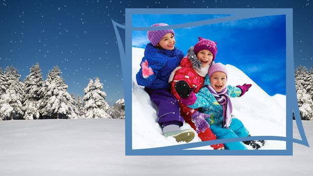 Snow Photo Frames screenshot 7