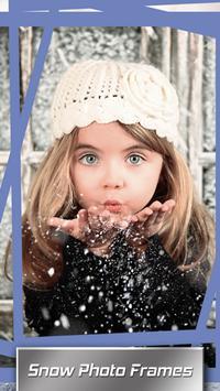 Snow Photo Frames poster
