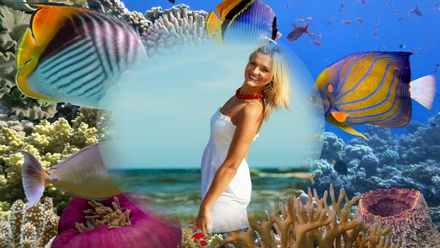 Sea Creatures Photo Frames apk screenshot