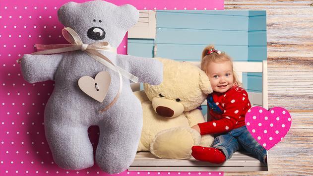 Sweet Teddy Bear Frames screenshot 3