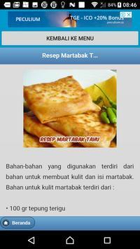 Kumpulan Resep Martabak screenshot 10