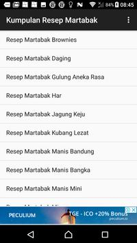 Kumpulan Resep Martabak screenshot 1