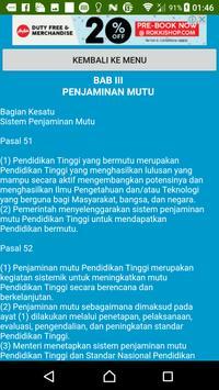 Undang-undang Pendidikan Tinggi apk screenshot