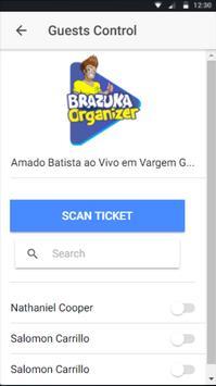 Brazuka Organizer apk screenshot
