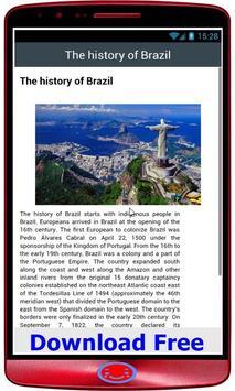 brazil History poster