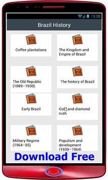 brazil History screenshot 1
