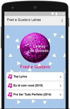 Fred e Gustavo Letras poster