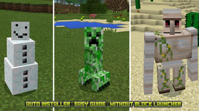 Mobs Skin Pack For Mcpe For Android APK Download - Skin para minecraft 1 11 2