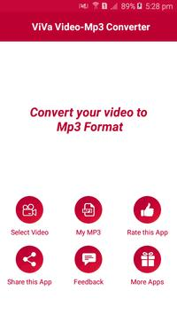 ViVa- Video To Mp3 Converter screenshot 1