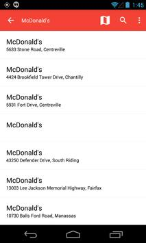 Find Food Fast apk screenshot