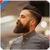 Beard photo editor pro icon
