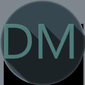 AOSP CM12 THEME DARK MTRL FREE icon
