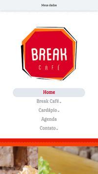 Break Café poster