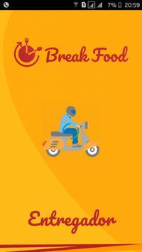 BreakFood Entregador poster
