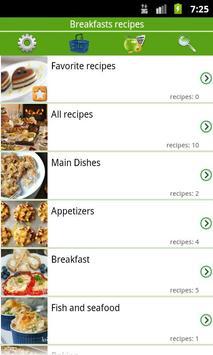 Breakfast recipes poster