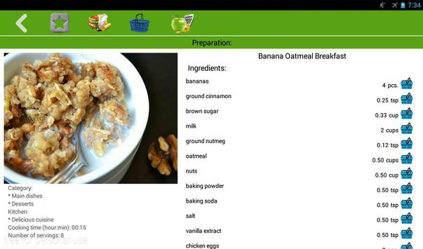 Breakfast recipes screenshot 4