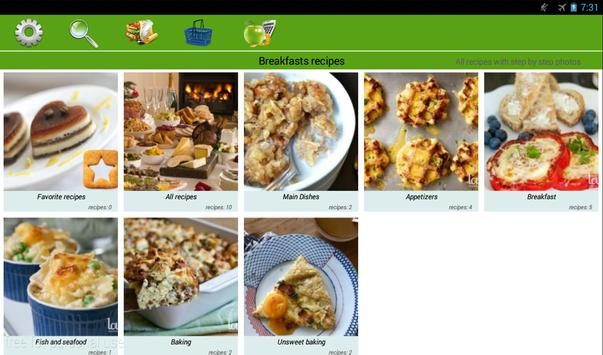 Breakfast recipes screenshot 5