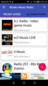 Breaks Music Radio apk screenshot