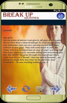 Break up sad Quotes pro 2017 apk screenshot