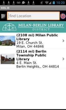 Milan-Berlin Library District apk screenshot