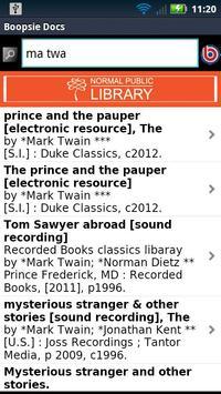Normal Public Library screenshot 1