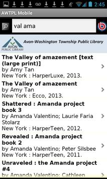 Avon Washington Twp Public Lib apk screenshot