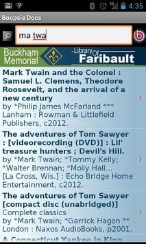 Buckham Library 2Go! screenshot 1