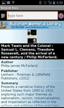 Buckham Library 2Go! screenshot 2