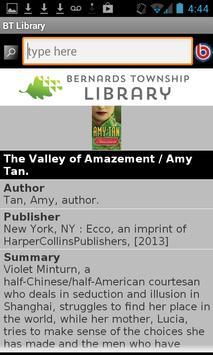 Bernards Township Library apk screenshot