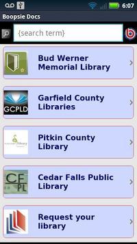 Boopsie for Libraries apk screenshot