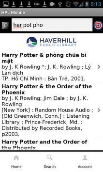 Haverhill Public Library screenshot 1