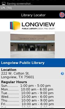 Longview Public Library (TX) apk screenshot