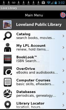 Loveland Public Library poster