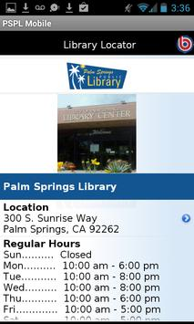 Palm Springs Public Library screenshot 3