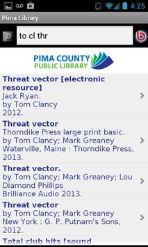 Pima County Public Library screenshot 1