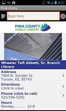 Pima County Public Library screenshot 4