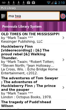 PLS Library screenshot 1