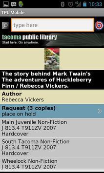 TPL Mobile screenshot 2