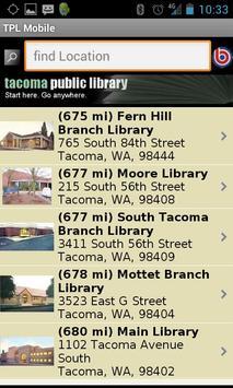 TPL Mobile screenshot 3