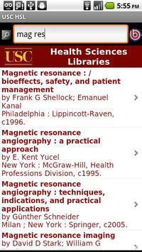 USC Health Sciences Libraries screenshot 1