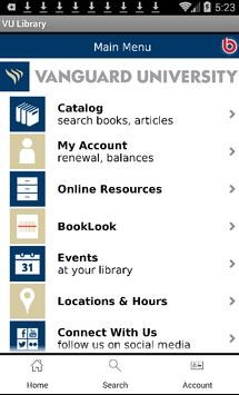 VUSC Library poster