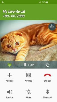 Fake Call Cat screenshot 1