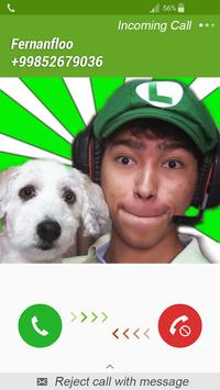 Fake Call Fernanfloo poster