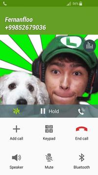 Fake Call Fernanfloo screenshot 1