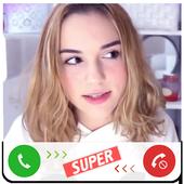 Fake Call Maryana Ro icon