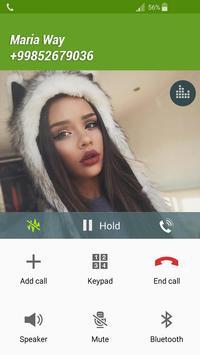 Fake Call Maria Way apk screenshot