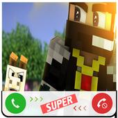 Fake Call Minecraft icon