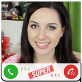 Fake Call TheKateClapp icon